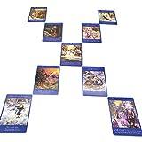SYJH Oracle gé Fairy Tarot Cards 78 Cartes et Guide, Nouveau Livre de Cartes