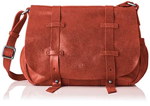 Mila Louise Bess Spark, borsa a tracolla, Arancione (Arancione (Rosso Paprika)), 9x20x23 cm (W x H x L)