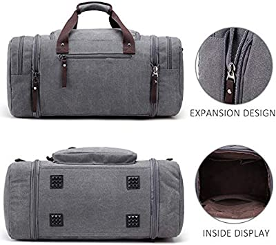 Arrive Men Travel Luggage Hand Bags Canvas Duffel Shoulder Fashion Large Capacity Overnight Tote Pocket