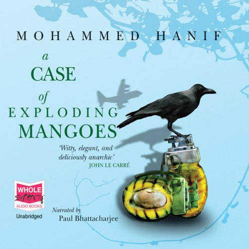 A Case of Exploding Mangoes audiobook cover art