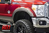 RDJ Trucks HWY-PRO OEM Style Fender Flares - Fits Ford F250/F350 SuperDuty 2011-2016 - Set of 4 (Smooth Paintable Black)