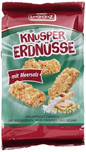 Lambertz Knusper Erdnüsse, 18er Pack (18 x 150 g)