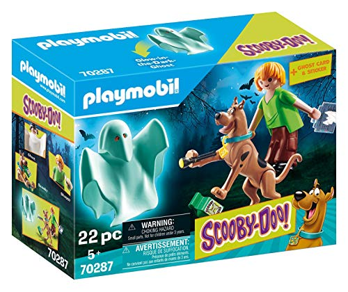 Playmobil  70287 SCOOBY-DOO! Scooby & Shaggy mit Geist, ab 5 Jahren