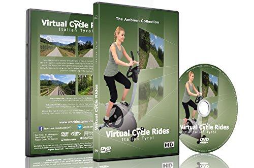 Virtuale Ciclo - Bicicletta attraverso Tirolo italiano - Per Indoor Cycling, tapis roulant e in corso allenamenti