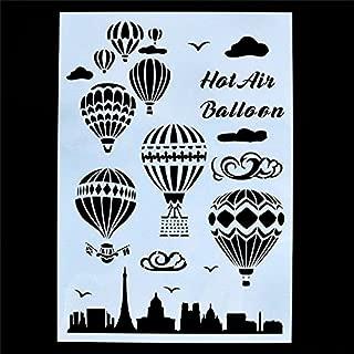 Best balloon letter stencils Reviews