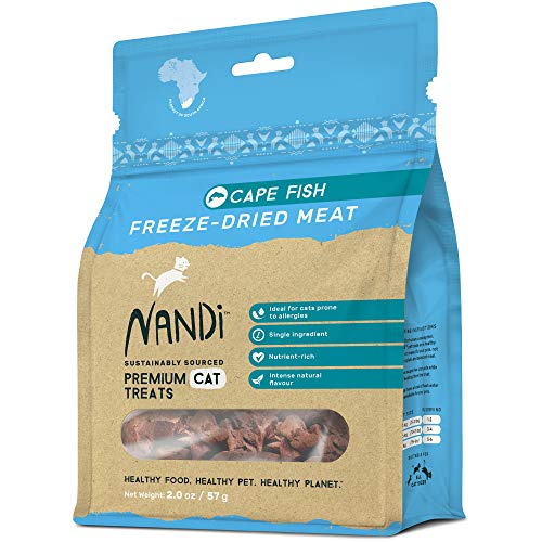 Nandi All-Natural South African Freeze-Dried Cat Treats