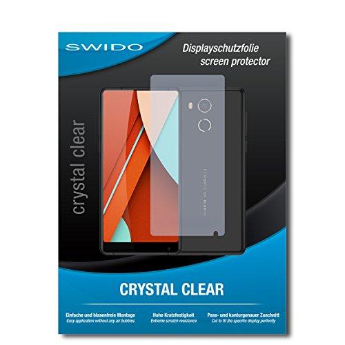 SWIDO Schutzfolie für Bluboo D5 Pro [2 Stück] Kristall-Klar, Hoher Festigkeitgrad, Schutz vor Öl, Staub & Kratzer/Glasfolie, Bildschirmschutz, Bildschirmschutzfolie, Panzerglas-Folie
