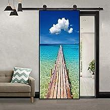 32 x 80 Door Mural Bank Vault Safe View Effect Decal Mural Home Decor Window Sticker Home Living Vinyl Art Bedroom Lounge Kitchen 251