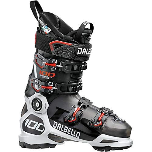 Dalbello D1803004.00 Chaussures de Ski Descente DS 100 Blanc Noir, Blanc, Noir, 25.0 (EU 39, 298mm)