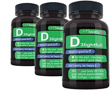 Vitamin D3 Omega 3 High Supplement: Baltimore Luxury Mall Potency 5000iu