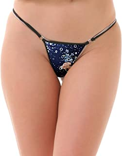 Lola Dola Ladies Women Girls Polyamide G-String Panty Set of 1 (Multi, Free)