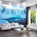 Moderne Eis Schnee Landschaftsblick Tapeten Wandbilder 3D Fototapeten Für Wohnzimmer Wanddekor Leinwand Tapetenrollen Anpassen 250X175 Cm