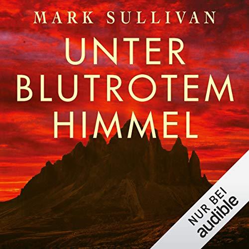 Unter blutrotem Himmel audiobook cover art