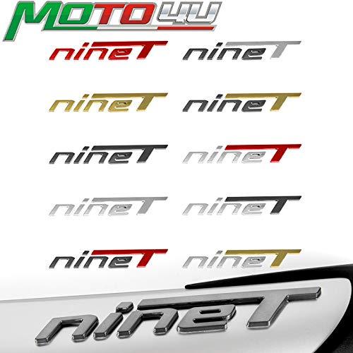 BLOUR MOTO4U Motorrad Auspuffrohr 3D Hitzebeständiger Aufkleber Cooler Persönlichkeitsgradient Für BMW R Nine TR NineT r9t