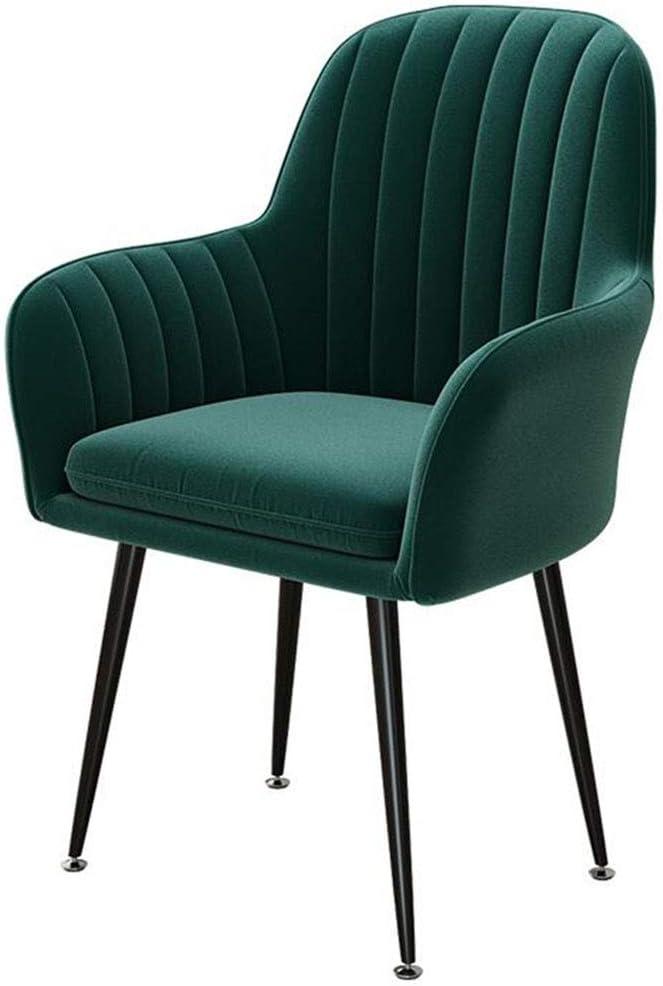 Dall Dining Chairs Leisure Regular dealer Sofa Max 75% OFF Armchair Legs Metal Recep
