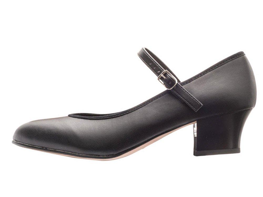 Black Katz Showtime character//stage dance shoes size UK 2