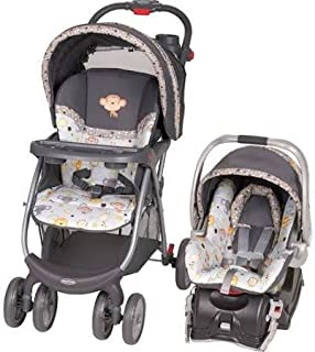 Baby Trend Envy Travel System with Flex-Loc Infant Car Seat Bobbleheads by Baby Trend