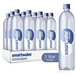 Smartwater antioxidant, 33. 8 fl oz bottles, pack of 12 8 purity you can taste. Hydration you can feel. Your newest way to hydrate the smartwater you love with a smart new twist. Vapor distilled water for purity, added electrolytes for taste and now infused with antioxidant selenium. Smartwater antioxidant water is the same crisp, clean water you love, it's vapor distilled, with added electrolytes for taste and infused with antioxidant selenium.
