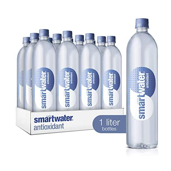 Smartwater antioxidant, 33. 8 fl oz bottles, pack of 12 1 purity you can taste. Hydration you can feel. Your newest way to hydrate the smartwater you love with a smart new twist. Vapor distilled water for purity, added electrolytes for taste and now infused with antioxidant selenium. Smartwater antioxidant water is the same crisp, clean water you love, it's vapor distilled, with added electrolytes for taste and infused with antioxidant selenium.