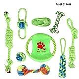 YYQQ Grupo de Juguete Perro Durable Masticable Cuerda Soledad Grupo de Juguete para Perrito Pequeño Medio Solitario para Mantener a su Perro Sano (Size : M)