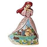 Disney, Figura de Ariel de la Sirenita con castillo, Enesco