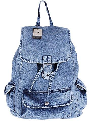 Primark - Bolso mochila para mujer Azul azul