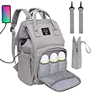 High Quality Fabric: Made of high quality Oxford 600D fabric, comfortable anti-water material, easy to clean. Do not worry about spilling milk or water on the bag Loving Comfort: Easily adjustable straps and soft lining provide a soft usage experienc...
