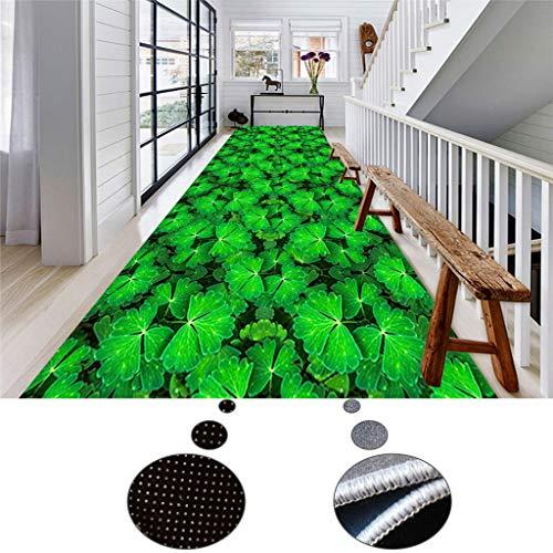 CarPET Teppich Läufer Flur, Breite: 0,6/0,8/0,9/1/1,1/1,2/m, rutschfest Lauflänge Anpassbare Teppich for Korridor Eingang Wohnzimmer (Size : 0.8x4m)