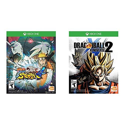 Naruto Shippuden: Ultimate Ninja Storm 4 - Xbox One & Dragon Ball Xenoverse 2 - Xbox One Standard Edition
