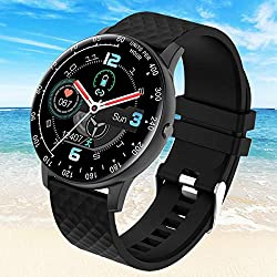 Smart Watch,Fitness Tracker Watch with Heart Rate Blood Pressure Monitor IP67 Waterproof Bluetooth Smartwatch Sports Activity Tracker Smart Bracelet for Men Women Kids Compatible Android iOS Phones