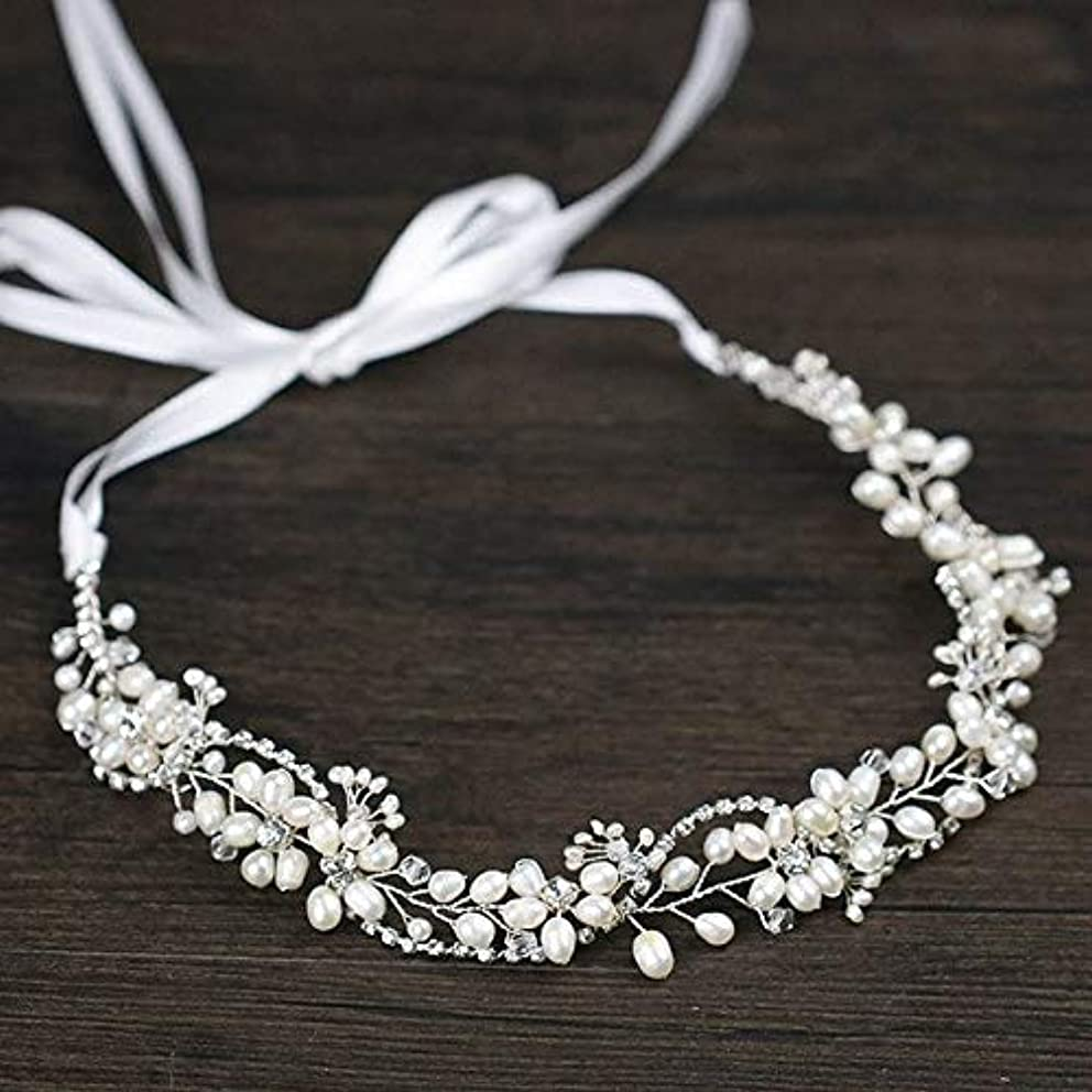 Crystal Rhinestone Simulated Pearl Hairband Headband Women Wedding Bride Bridesmaid Head Band Headdress Hair Accessories JL