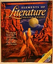 holt elements of literature second course