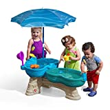 Step2 Spill & Splash Seaway Water Table | Kids Dual-Level Water Play...