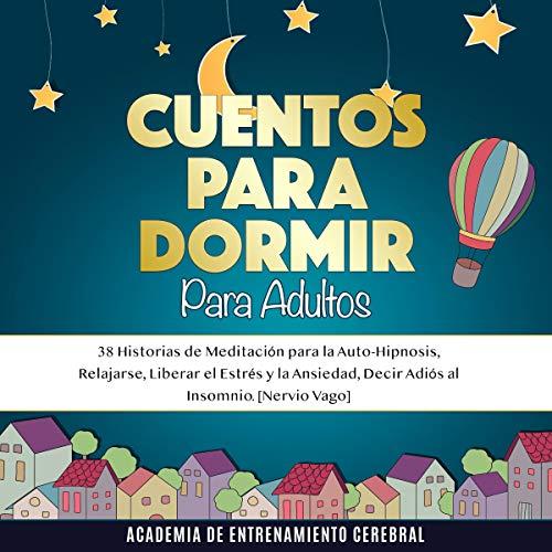 Diseño de la portada del título Cuentos Para Dormir Para Adultos