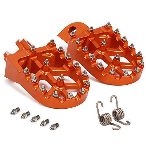 Plaques de Commande de Pieds Larges CNC pour K.T.M. 65-1290 All Models 98-18