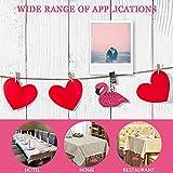 ibvenit 4er Set Tischdeckenbeschwerer für draußen Tischtuchklammern Tischtuchbeschwerer mit Klemmkraft Tischdeckenbeschwerer Vorhang Beschwerer Flamingo Tischdecken Gewichte - 7
