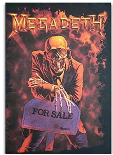 Jigsaw Puzzles 1000 Piezas Madera Montaje Imagen Megadeth Rock Band Portada del álbum Póster Juegos para Adultos Juguetes educativos Fr491Mj