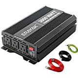 ERAYAK 1800W/3000W Power Inverter 12v to 110v with 3 AC Outlets and Dual 3.1A USB Ports, Inverter for Car Truck RV Solar, Professional-Grade Voltage Converter Modified Sine Wave Inverter