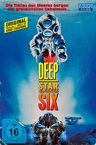 Deep Star Six (Retro-VHS-Edition, Blu-ray+DVD)(exklusiv bei Amazon.de) [Limited Collector's Edition]