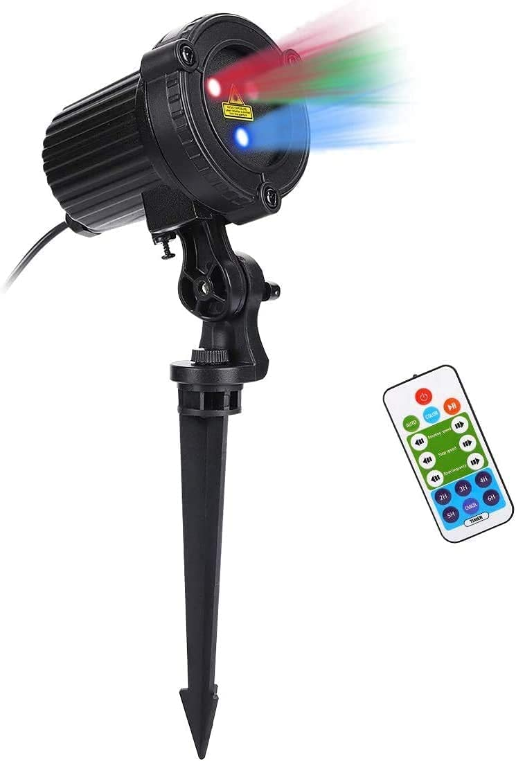 CAIYUE Max 55% OFF Christmas Laser Lights Outdoor Max 40% OFF 32 Projector Pa RGB Motion