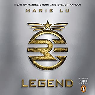 Legend                   By:                                                                                                                                 Marie Lu                               Narrated by:                                                                                                                                 Mariel Stern,                                                                                        Steven Kaplan                      Length: 7 hrs and 48 mins     3,704 ratings     Overall 4.3