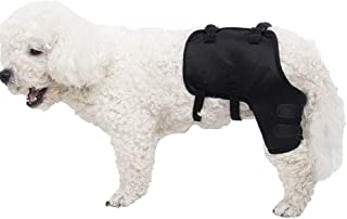 MOCOHANA Black Dog Knee Support Sleeve Dog Front Leg Brace Rear Dog Hock Support Heals Hock Joint Wrap Sleeve Protector - Pet Brace Heals and Prevent Injuries, Loss of Stability from Arthritis