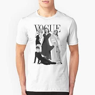 VOGUE Marilyn Monroe Judy Garland Audrey Hepburn & Elizabeth Montgomery Slim Fit TShirtT shirt Hoodie for Men, Women Unisex Full Size.