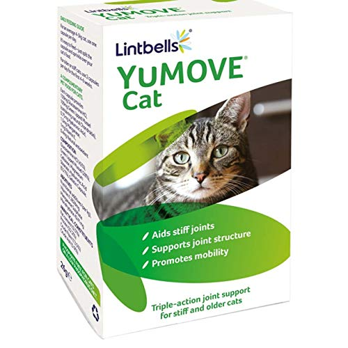 Yumove Cat Joint Supplement, Pack of 60 Capsules + Pet Notebook