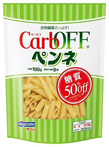 スマートマットライト はごろも CarbOFF (低糖質 マカロニタイプ) ペンネ 100g (5682) ×5個