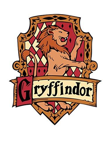 TENNER LONDON Gryffindor Hierro en Serigrafía Tela Applique Lavable a Máquina...