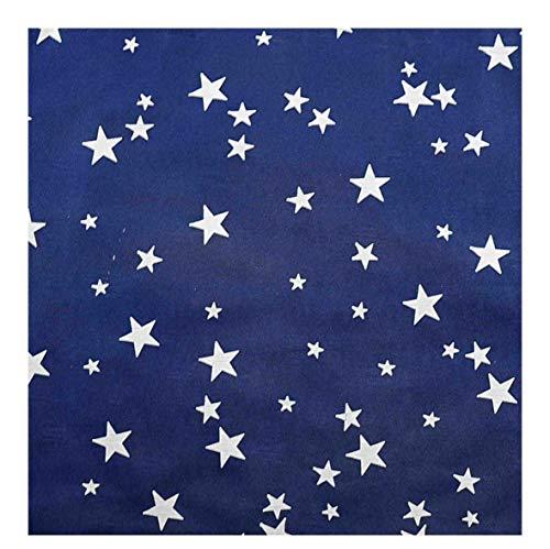 Gerimport sl Carta Cielo Blu Vellutata con Stelle Bianche cm.70x100