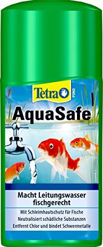 Tetra Pond AquaSafe (Qualität-Teichwasseraufbereiter für fischgerechtes und naturnahes Teichwasser), 250 ml Flasche