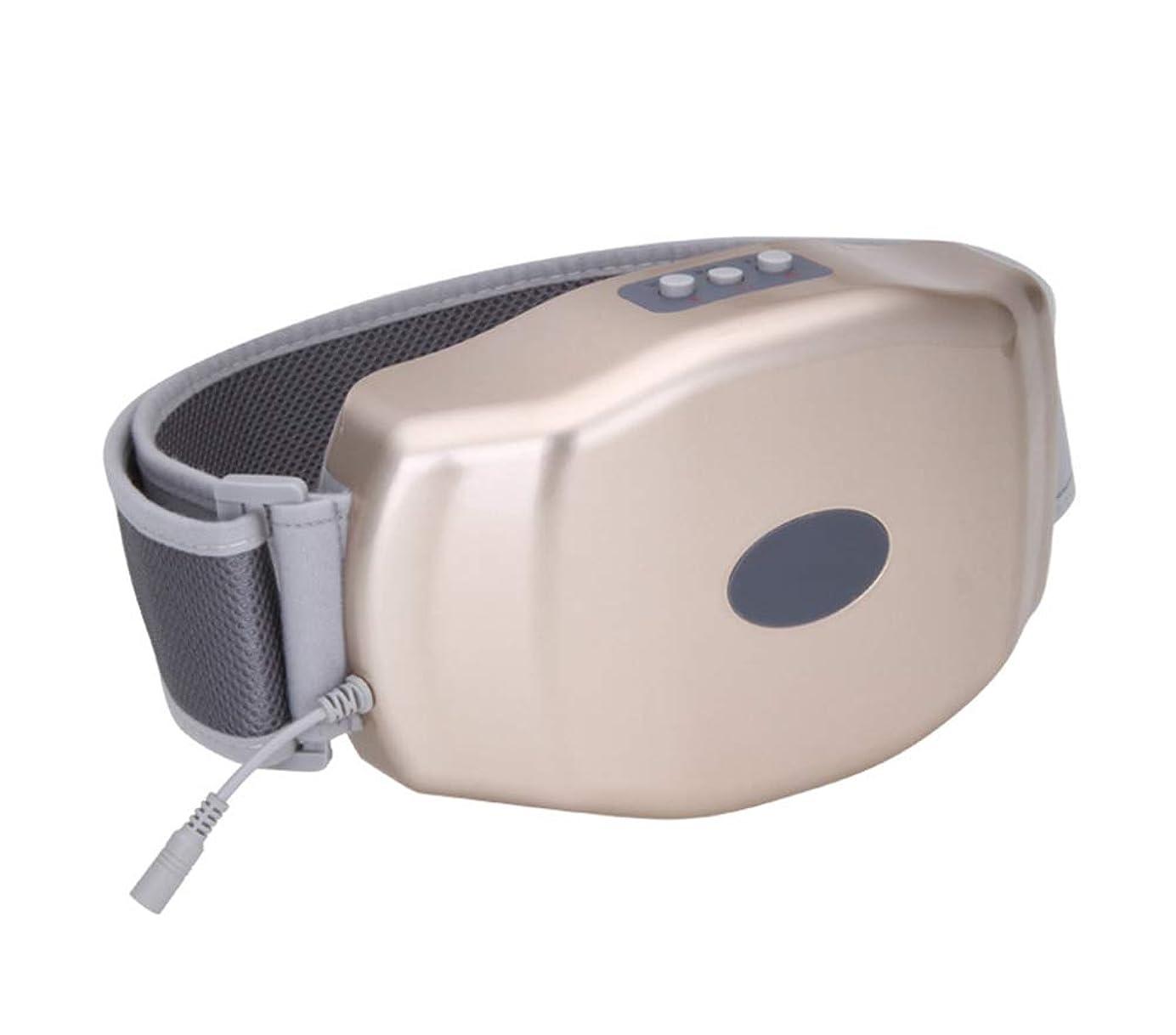 阻害するトレード結び目多機能腹部マッサージ - 電気ファットバーナー - 腹部減量マッサージ振動便秘腹部理学療法ベルト加熱男性と女性のベルト