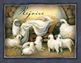 LANG - 'Rejoice', Boxed Christmas Cards, Artwork by Susan Winget - 18 Cards with 19 Envelopes - 5.38 x 6.88 Inches